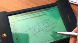 Apple Newton MessagePad 2000 superb note taking abilities