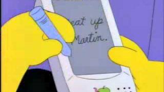 [영어]macTV Show #109 The Simpsons Newton Reference