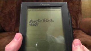 Apple Newton MessagePad 100 | Ashens