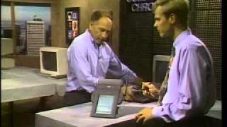 Presentation of Apple Newton • The computer chronicles